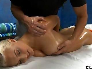 Blonde Slut Needs A Nice Massage
