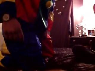 Blowjob In Clown Suit