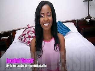 Jezabel Vessir   Double D Black Beauty Blows Bubbles With Cum%21