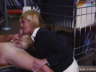 Tit Slapping Orgasms Hot Milf Banged At The Pawnshop