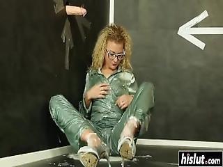 Horny Uma Masturbated Her Clit Hard