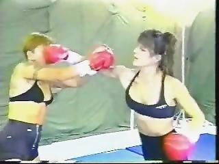 Christine Vs Jasmine Boxing Ko
