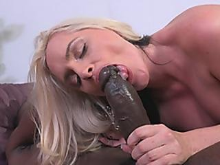 Lonely Milf With Big Ass Gets Drilled Hard By A Huge Black Cock