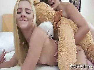 röv, björn, bondage, college, lebb, schyssta tuttar, sex, bunden