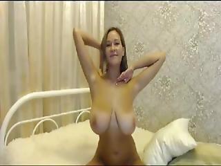 Shameless Busty Cougar Milf Having Fun On Webcam