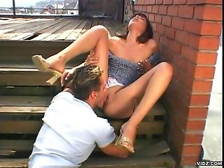 Young Whore Gets Tight Asshole Pounded Hard