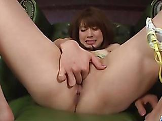 Maki Sarada Wants Jizz On Face After Proper Cock Sucking