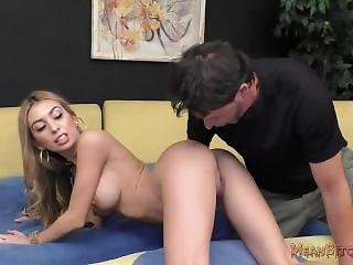Kat Makes Her Stepdaddy Lick Her Asshole