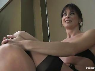 bondage, star du porno, publique, brusque, sexe