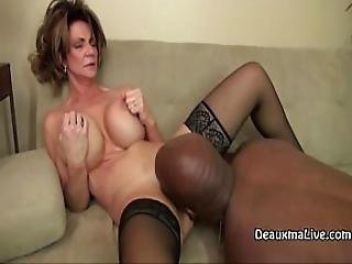 Mature Milf Deauxma Fucks Her Black Boss