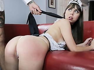 Trained Maid Disciplined Hard By Master