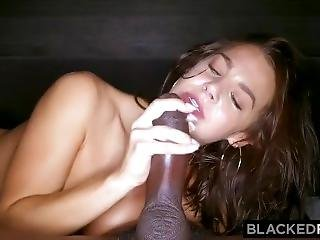 Beautiful Evelin Stone Get Her Pretty Pussy Demolished By Black Dick-hd