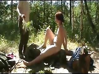 Yes, This Is Painful For My Slave Olga An Outdoor Session With Nettles You Get That When You Behave Slutty During A Party Of My Company