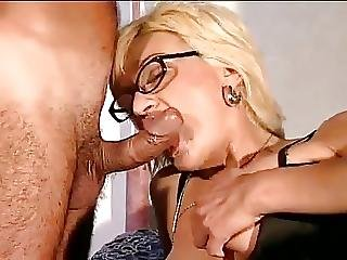 Italian Mom Sprayed In Mouth And Lens