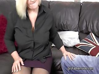 Mature Insurance Seller Sex With Younger Customer