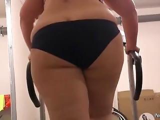 Fat Girl On Treadmill