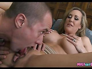Blonde Milf Fucks With Younger Guy