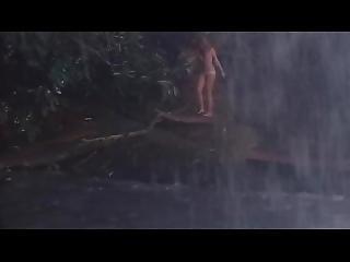 Grizzly: Sexy Underwear Girl Under Waterfall