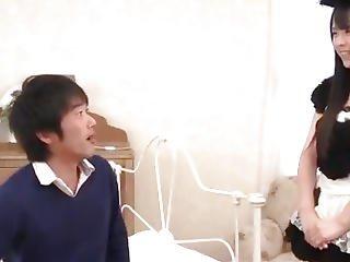 Ruka Kanae Amazing Hardcore Porn Show As A Maid