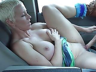 Short-haired Milf Loves To Cum