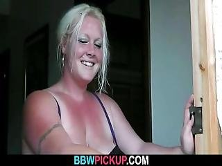 Cock Hungry Bbw Seduces A Man And Rides His Cock