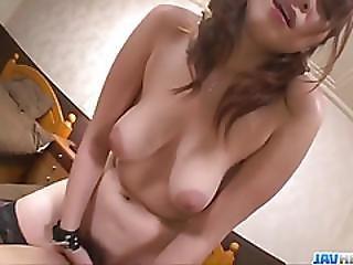Araki Hitomi Sensual Woman, Plays Dirty On A Big Cock