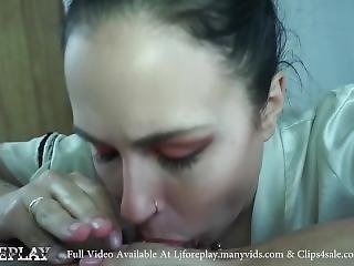Naughty Princess Sucks For A Facial - Ljforeplay