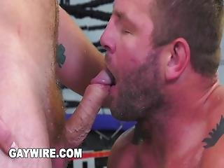 Conner Has Run Late For His Workout And Colby Is Not In The Least Happy About It When He Finds Out It Was Because He Was Off Jerking Off, He Decides It�s Time For A Rough And Tough Workout Session