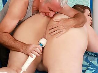 naoliwiony seks analny