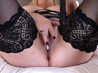 Black Dildo Deep And Dirty In My Wet Pussy