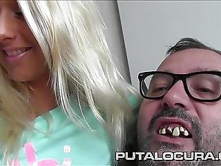 Puta Locura Czech Out Sexy Shaved Blonde Teen