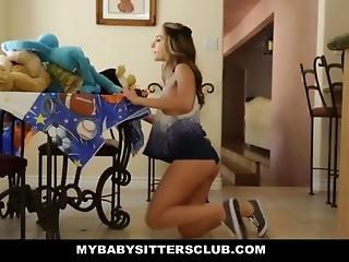 Mybabysittersclub - Babysitter Escort Fucked Then Hired