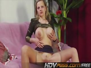 Blonde Milf With Huge Boobs Licking His Ass Mp4