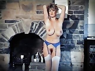 Feel The Heat - Vintage 80 S Big Tits Striptease Dance