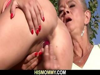 Granny Seduces Her Son S Gf