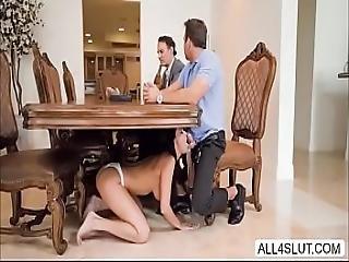 Brunette Teen Sofi Ryan Wraps Her Pussy Around A Massive Cock - All4slut.com