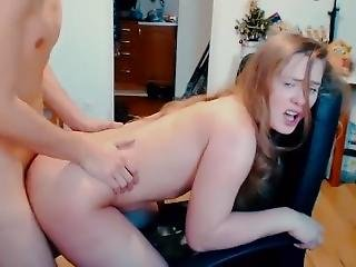 Young Homemade Couple Sex On Webcam