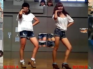 Onapet Series 18 Danced By Japanese Girl Denim Shorts