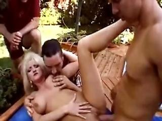 Milf Suck And Fuck To A Hunk Man With A Big Cock And She Wanted More Until She Taste His Cum