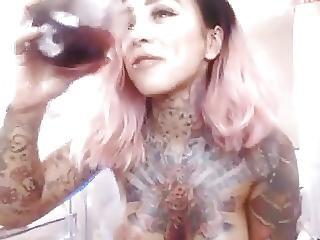 Maszturbáció, Tetoválás, Webcam