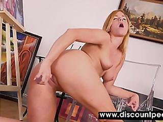 Blonde Perkys Piss And Plays With Her Cunt
