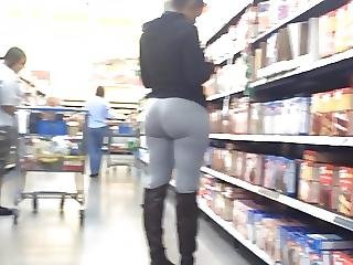 Phat Ass Donk Spandex Shes Lovin It