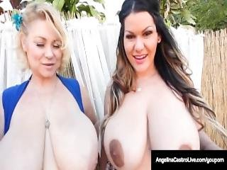 Cuba S Angelina Castro Has A Foursome Blowjob 6 Huge Tits