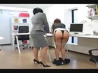 Office Lady Spanking