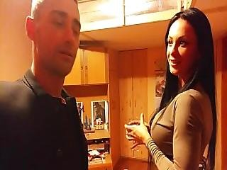 Milf Couple My Crazy Girlfriend When Drinking Playing Pool