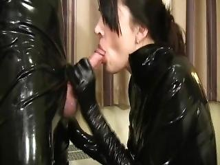Blowjob In Latex