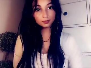 brud, stortuttad, brunett, college, latinska, sexig, solo, Tonåring