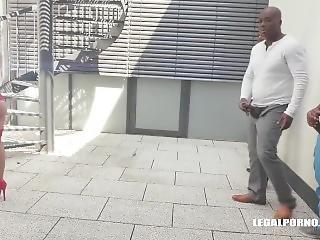 Legalporno Trailer - Xxx Nikyta - Busty Bitch Comes To Try Black Cocks