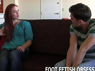 We Love To Use Our Sexy Feet To Tease