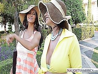 Wives On Vacation Ava Addams Eva Notty Naughty America